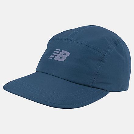 NB Running Stash Hat, LAH03007MTL image number null