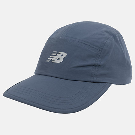 New Balance Packable Run Hat, LAH03007STB image number null