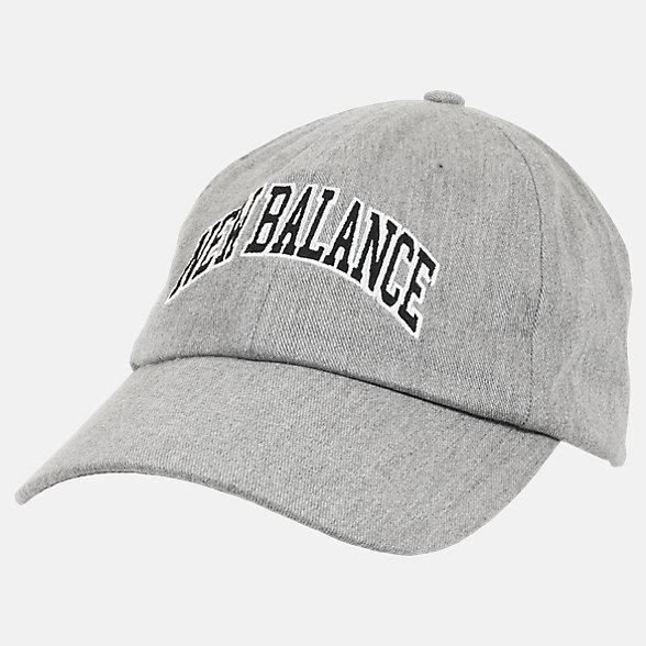 New Balance 男女同款休闲棒球帽, LAH03010AG