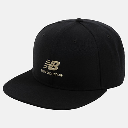 New Balance Podium Hat, LAH03014BK image number null