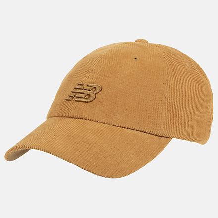 New Balance NB Seasonal Corduroy Hat, LAH03017WWK image number null