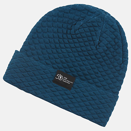 New Balance Warm Up Knit Beanie, LAH0309MRGV image number null