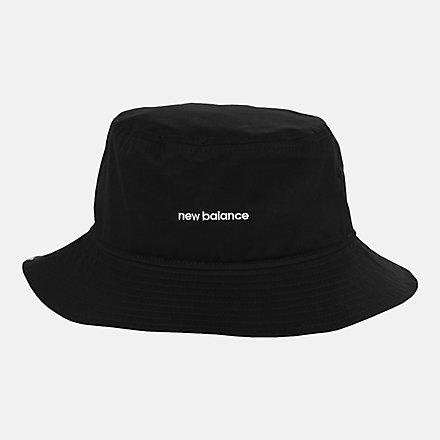 NB NB Bucket Hat, LAH13003BK image number null