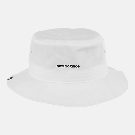 New Balance NB Bucket Hat, LAH13003WT image number null