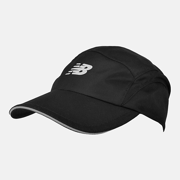 NB 5 Panel Performance Hat, LAH91003BK