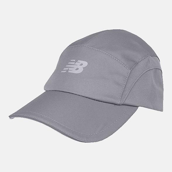 New Balance 5 Panel Performance Hat, LAH91003GNM