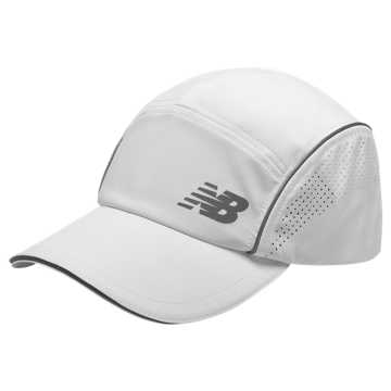 New Balance Laser Run Hat, White