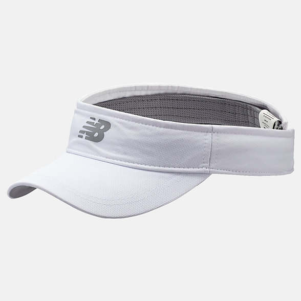 New Balance Performance Visor 2.0, LAH91006WT