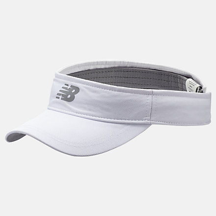 New Balance Performance Visor 2.0, LAH91006WT image number null