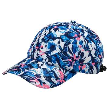 New Balance Womens Curved Brim Hat, Navy
