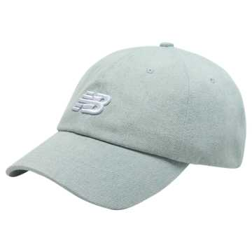 New Balance Classic NB Curved Brim Hat, Bleached Denim