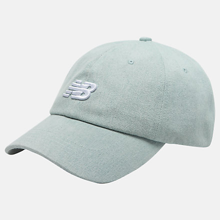New Balance Classic NB Curved Brim Hat, LAH91014BCD image number null