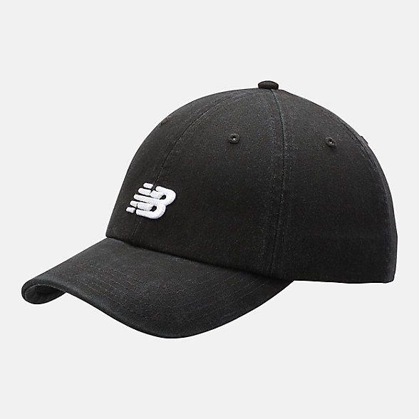 New Balance Classic NB Curved Brim Hat, LAH91014BK