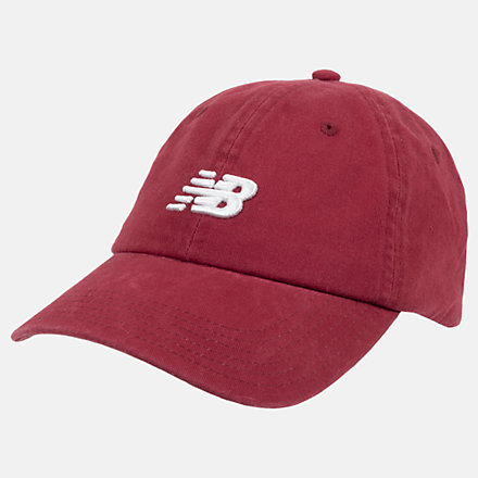 New Balance Classic NB Curved Brim Hat, LAH91014NCR image number null