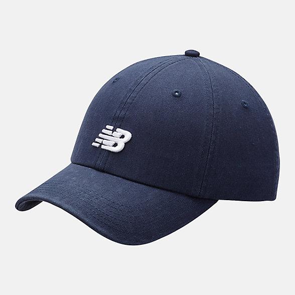 New Balance 男女同款休闲棒球帽, LAH91014NGO