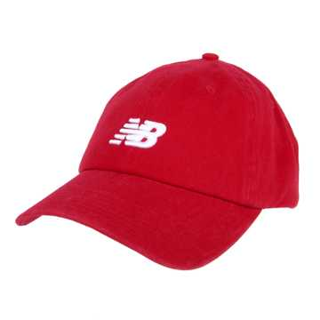 New Balance Classic NB Curved Brim Hat, Team Red