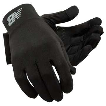 New Balance Everyday Gloves, Black
