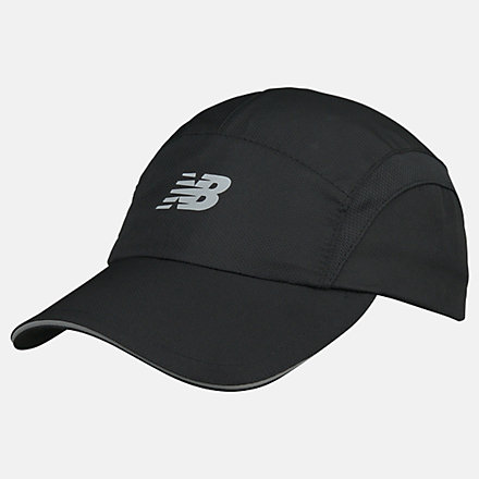 New Balance Hat, LAH91026BK image number null