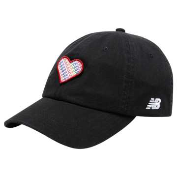 New Balance Pride Pack Hat, Black