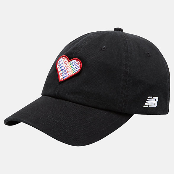 New Balance Pride Pack Hat, LAH91038BK