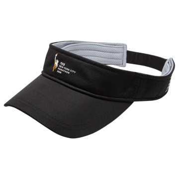 New Balance TCS NYC Marathon Performance Visor, Black