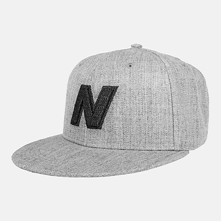NB Exploded Logo Hat, LAH93001AG image number null
