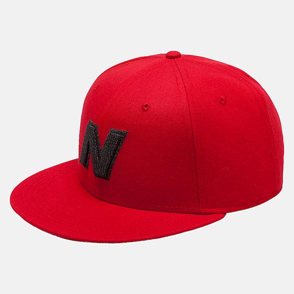 New Balance Exploded Logo Hat, LAH93001TRE