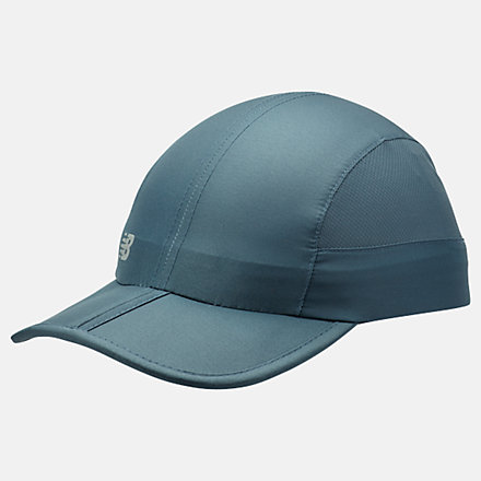 New Balance Packable Speed Run Hat, LAH93003SNB image number null