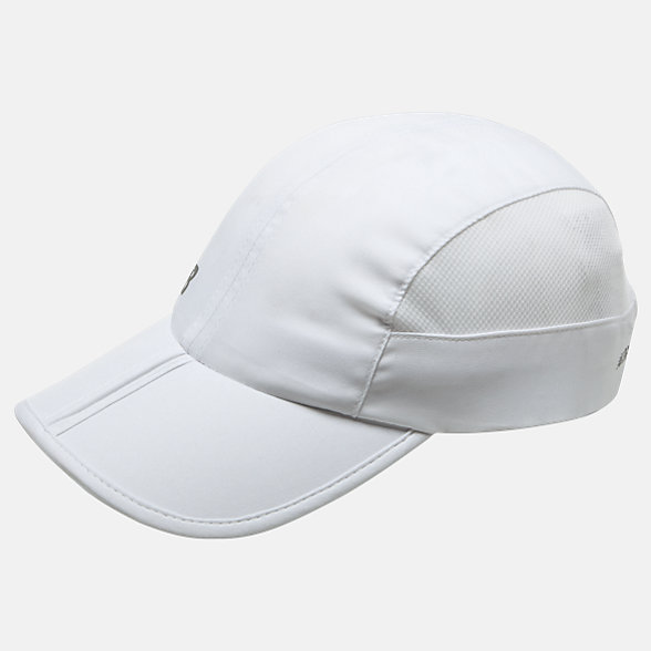 NB Packable Speed Run Hat, LAH93003WT