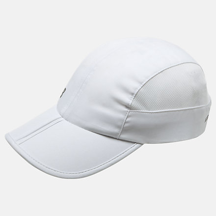 New Balance Packable Speed Run Hat, LAH93003WT image number null