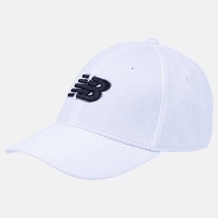 New Balance NB Training Hat, LAH93005WT image number null