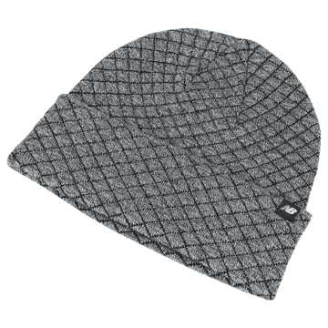 New Balance Warm Up Knit Beanie, Athletic Grey Heather