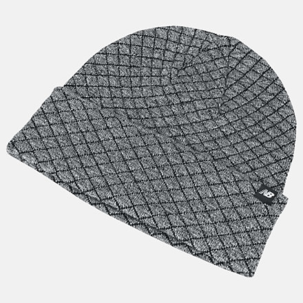 New Balance Warm Up Knit Beanie, LAH93007AG image number null