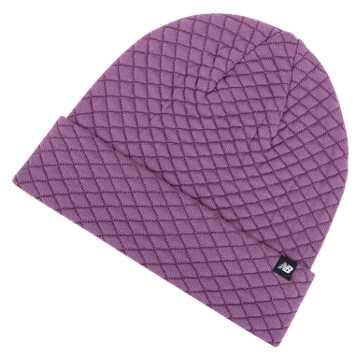 New Balance Warm Up Knit Beanie, Kite Purple