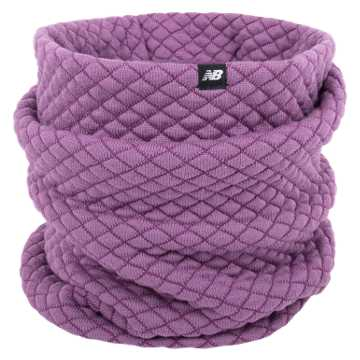 New Balance Warm Up Knit Snood, Kite Purple