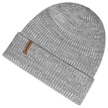 New Balance Oversize Cuff Watchman Beanie, Athletic Grey