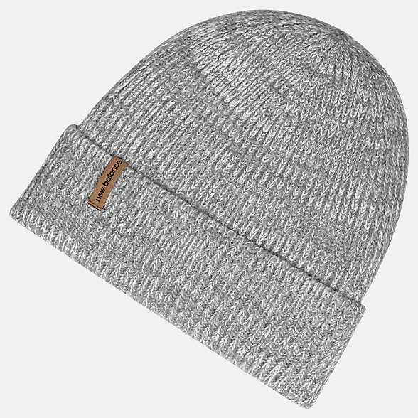 New Balance Oversize Cuff Watchman Beanie, LAH93009AG