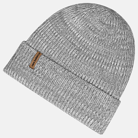 New Balance Oversize Cuff Watchman Beanie, LAH93009AG image number null