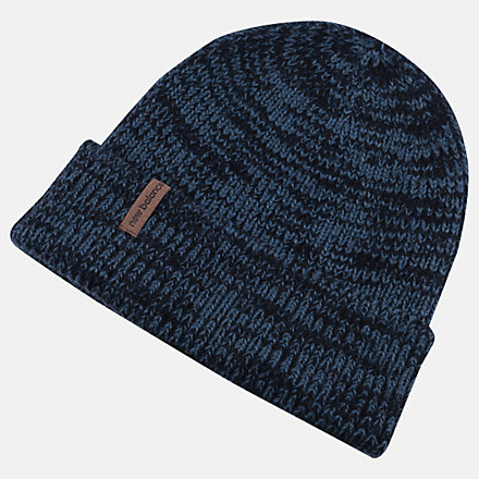 New Balance Oversize Cuff Watchman Beanie, LAH93009MTL image number null