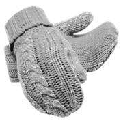 New Balance Winter Mittens, Athletic Grey Heather