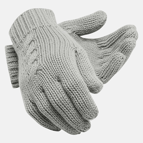 New Balance Lux Knit Gloves, LAH93013AG