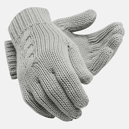 New Balance Lux Knit Gloves, LAH93013AG image number null