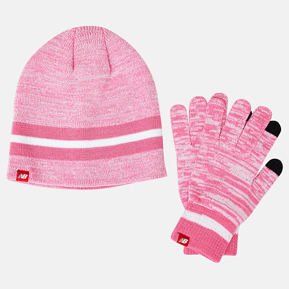 NB Beanie and Gloves Gift Set, LAH93014LCV