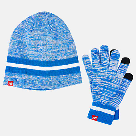 NB Beanie and Gloves Gift Set, LAH93014VCT image number null