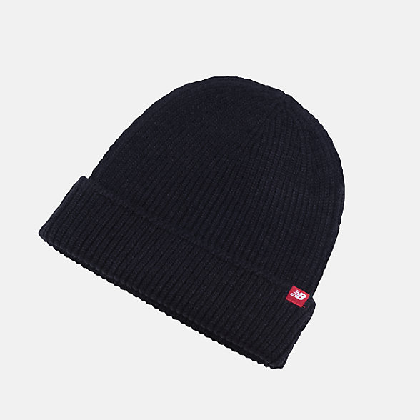 New Balance Watchmans Winter Beanie, LAH93015BK