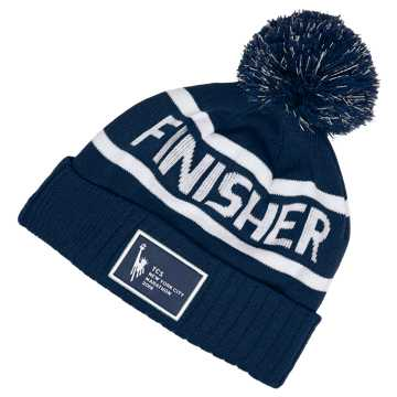 New Balance TCS NYC Marathon Finisher Pom Beanie, Pigment