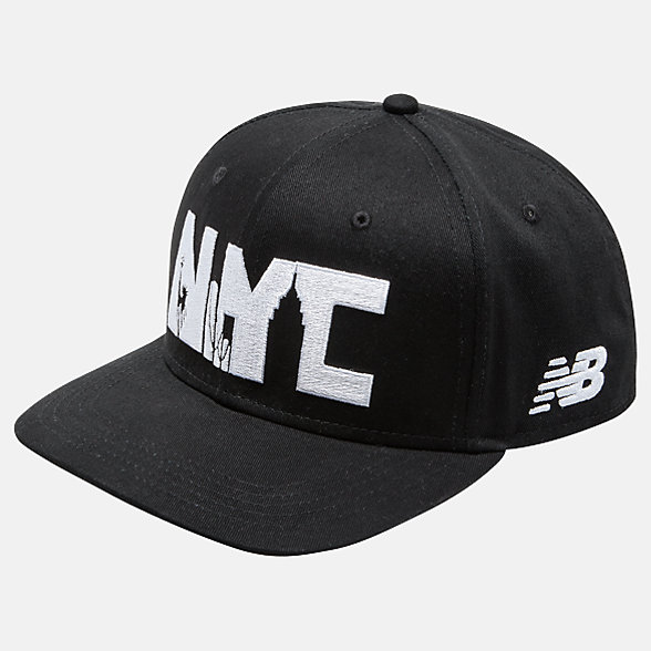 New Balance TCS NYC Marathon Graphic Patch Hat, LAH9307MBGR