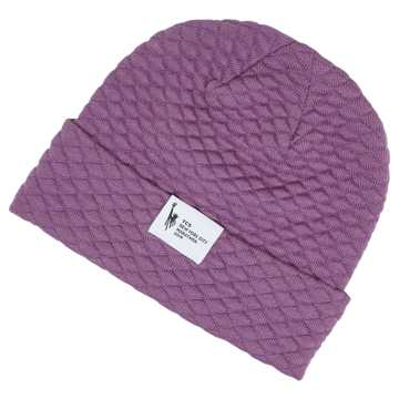 New Balance TCS NYC Marathon Warm Up Beanie, Kite Purple