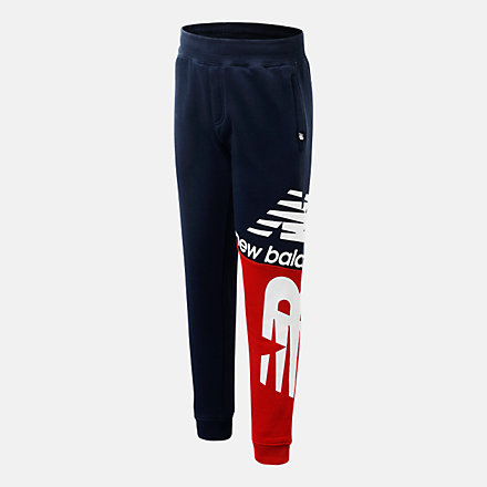 New Balance Lifestyle Splice Jogger, LAK11B02ECL image number null