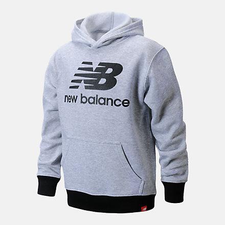New Balance Core Fleece Hoodie, LAK11B11HG image number null